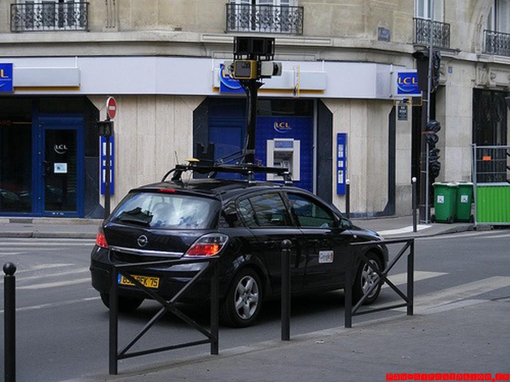 Google Maps Street View à Pau