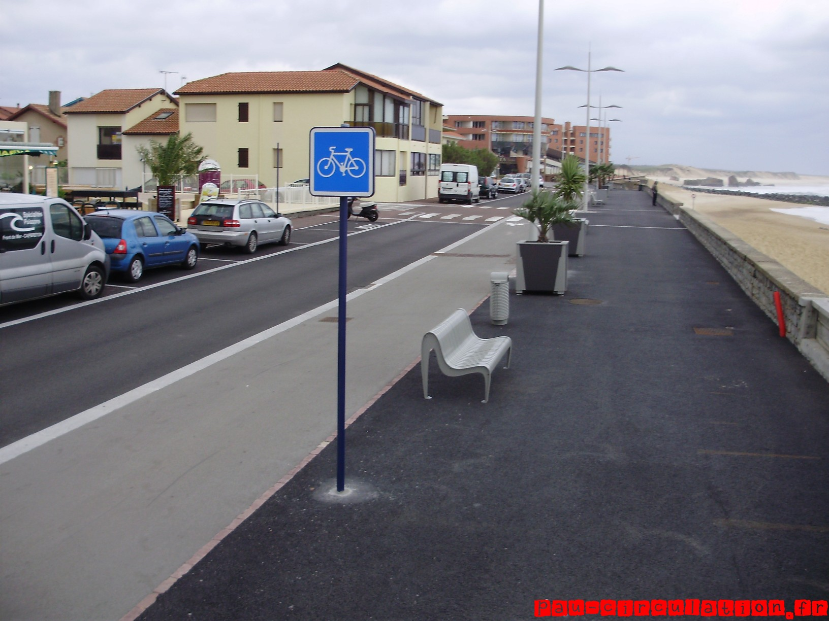 [Capbreton] Du stationnement aux transports alternatifs sur le front de mer.
