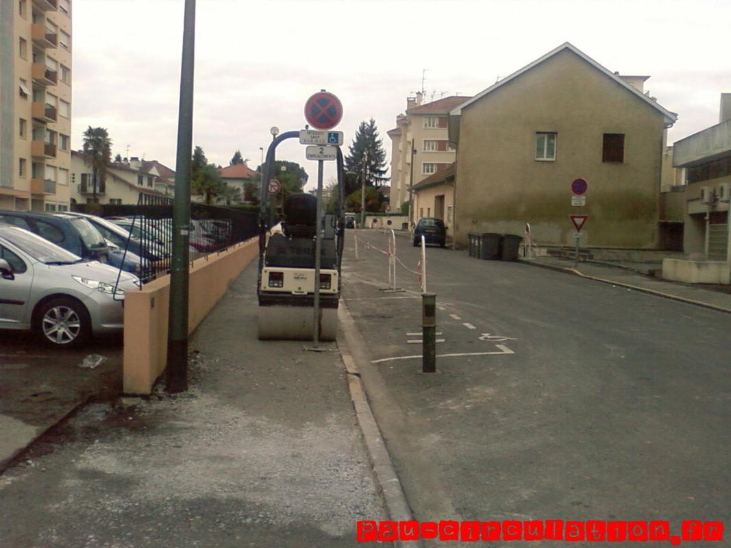 Rénovation des trottoirs Avenue Mirabelle