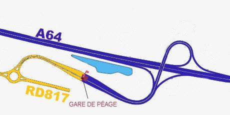 ASF lance les travaux du nouvel échangeur de Lescar sur l'A64
