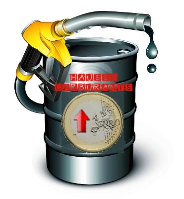 Hausse des Carburants à la pompe