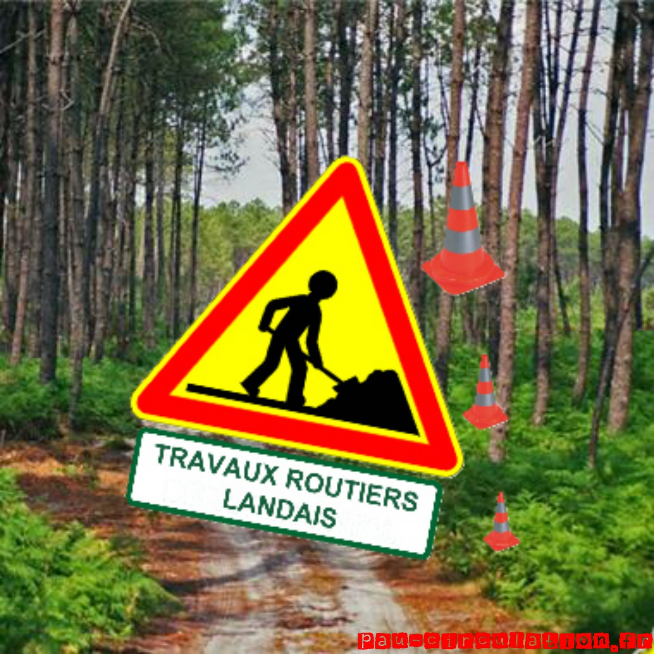 Travaux Routiers Landais 2011