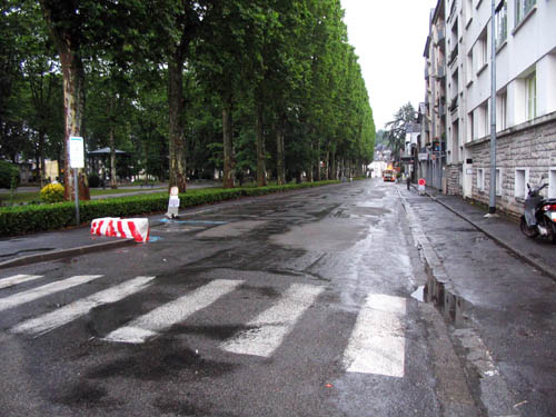 Travaux rue Alfred de Vigny à Oloron Sainte-Marie