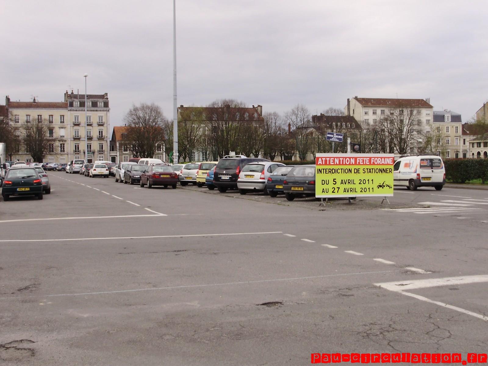 Fermeture de la Place de Verdun (Côté Sud)