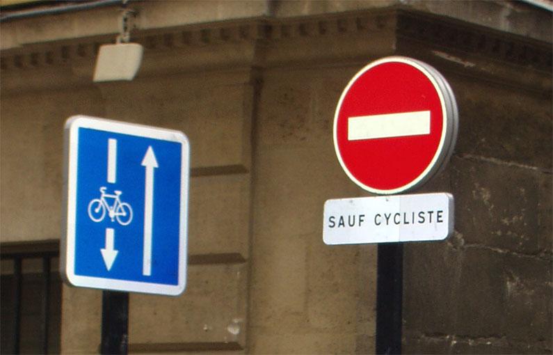 Bayonne en Double Sens Cyclable