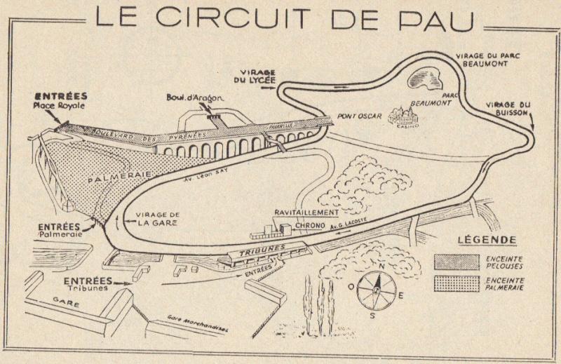 Grand Prix de Pau: Déviations et Accès