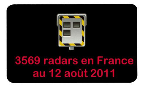 3569 Radars en France