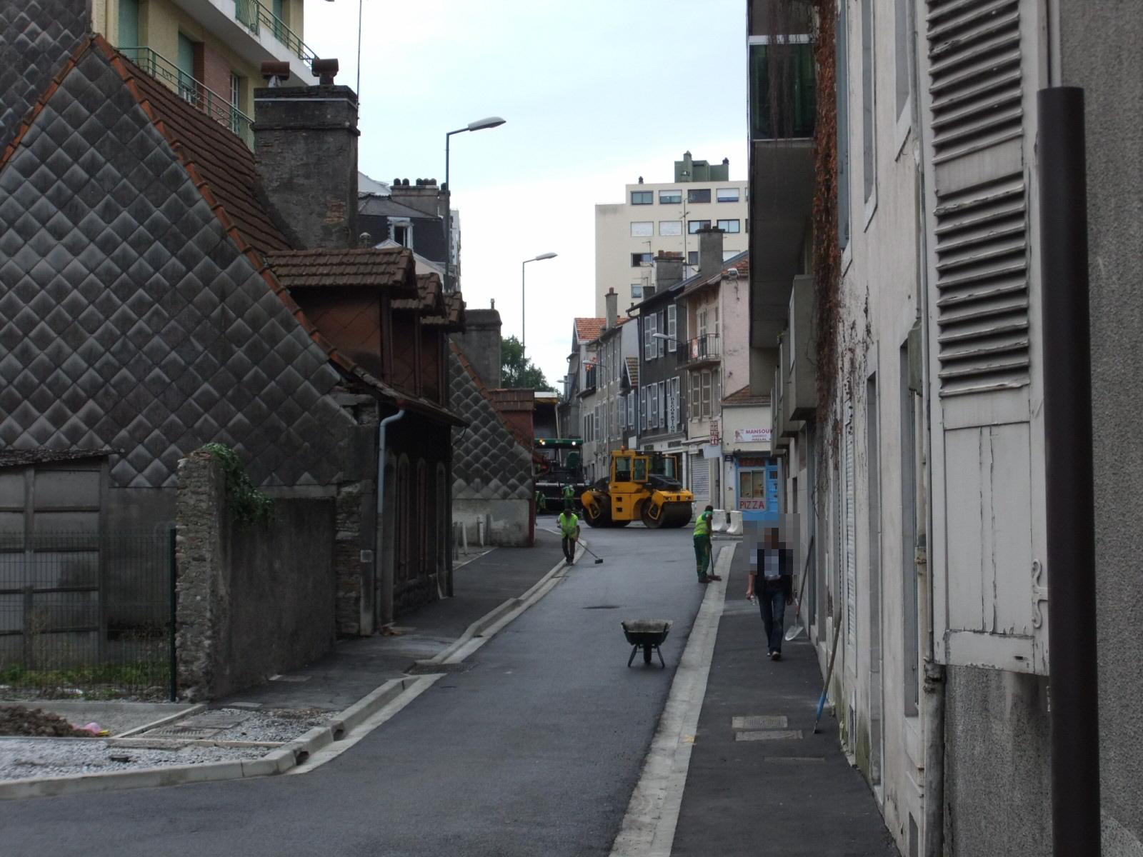 Les Rues Lespy et Carrérot bientôt réouvertes…