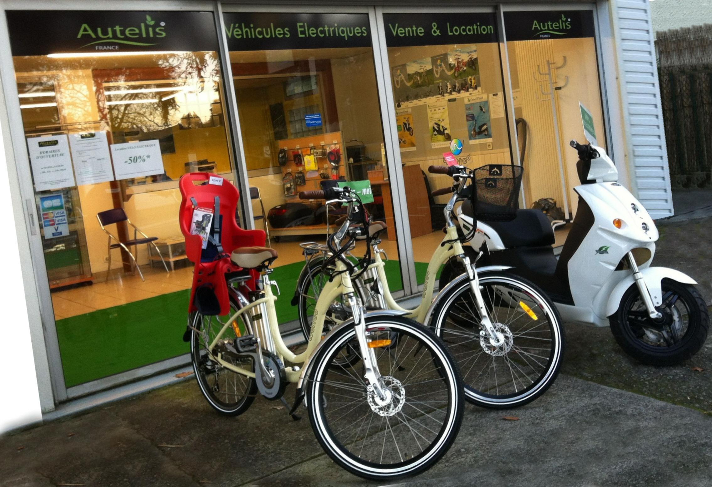 Autelis, magasin de vente et de location de véhicules électriques