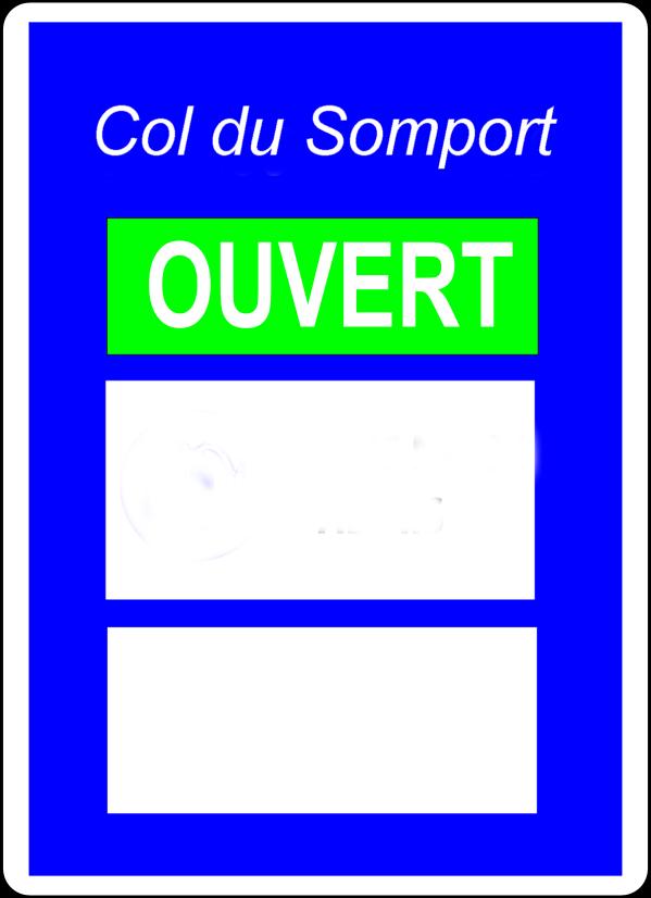 Réouverture du Col du Somport