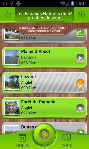 Balades en Béarn et en Pays Basque sous Android par le CG64