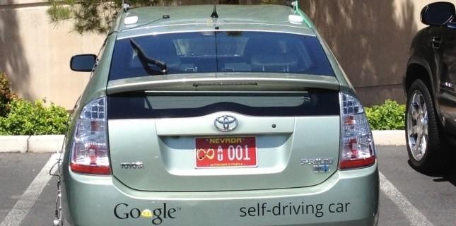 La voiture de Google sans conducteur légalisée au Nevada