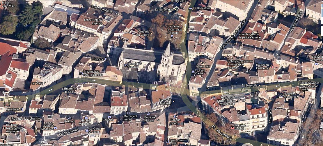 Avignon à 45°