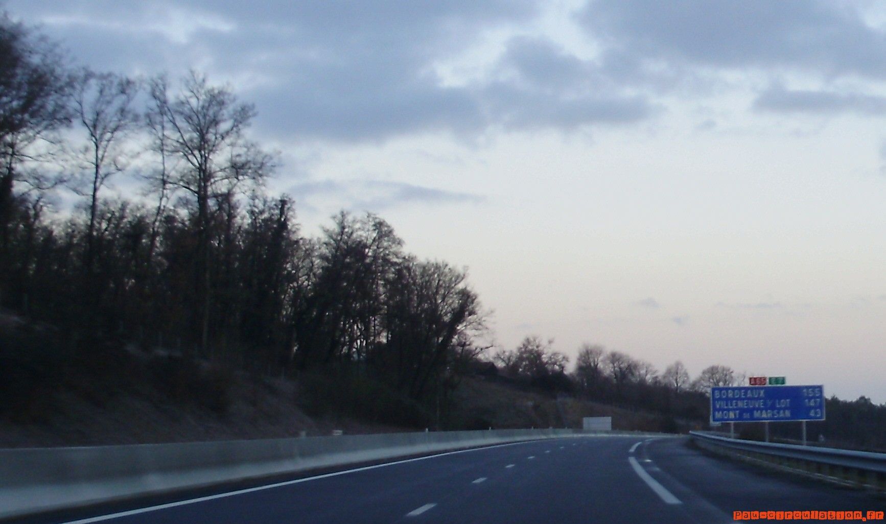 A65, un déficit de 35 millions d'euros pour l'exercice 2012…