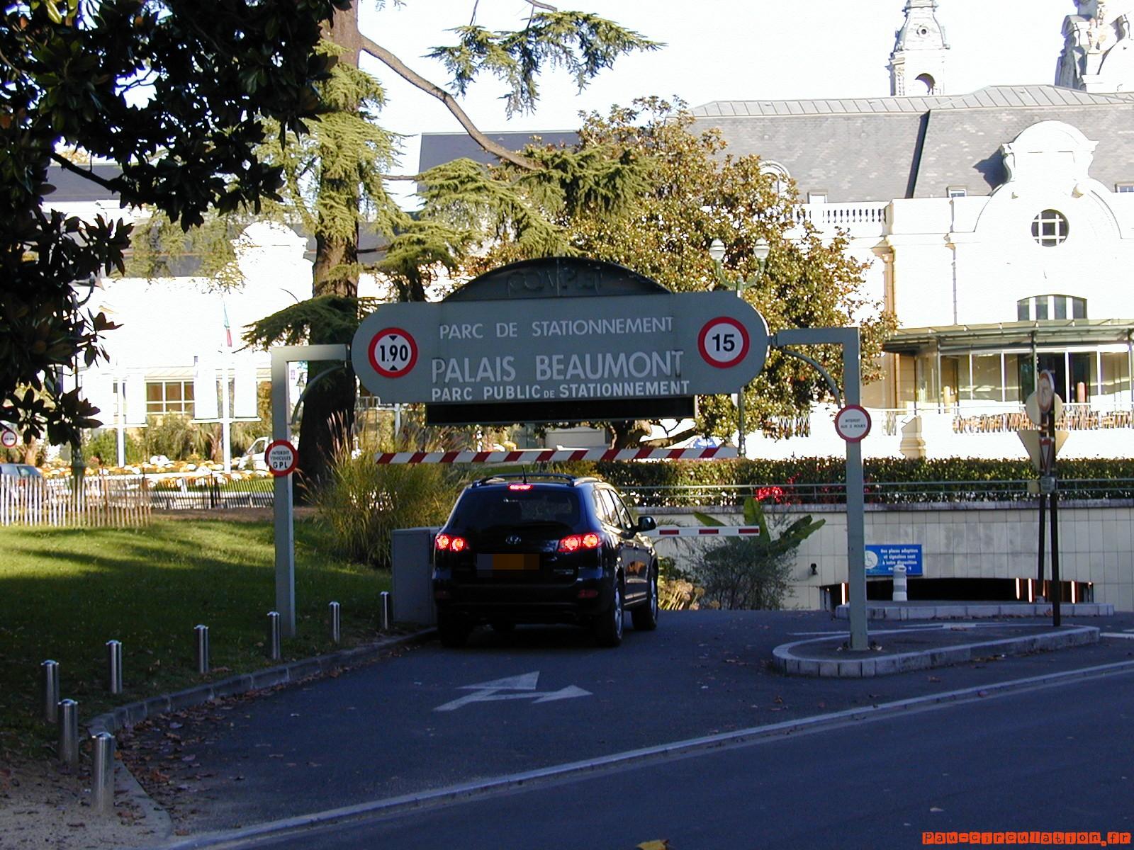 Parkings Souterrains de Pau: légère hausse pour les longs stationnements
