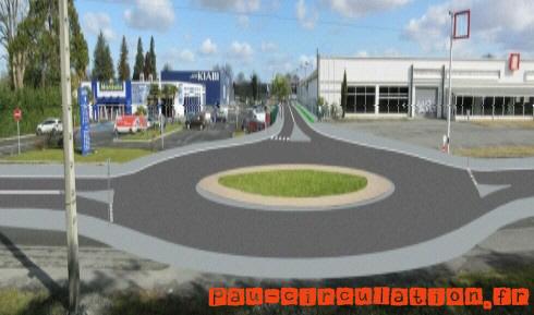 Projet de création d'une voie urbaine de desserte Sud du Stade du Hameau