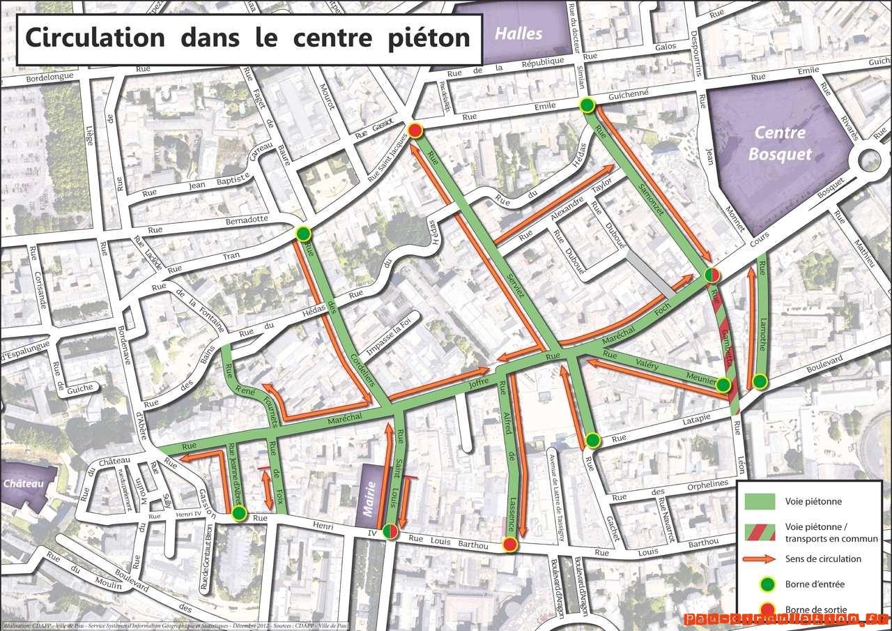 Fin de circulation des voitures en transit en centre ville