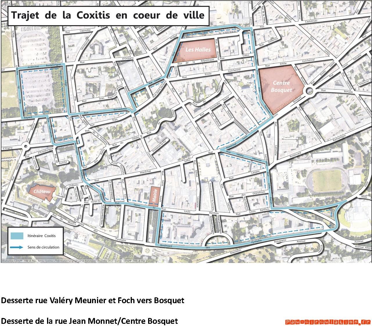 Coxitis, changement de routes…