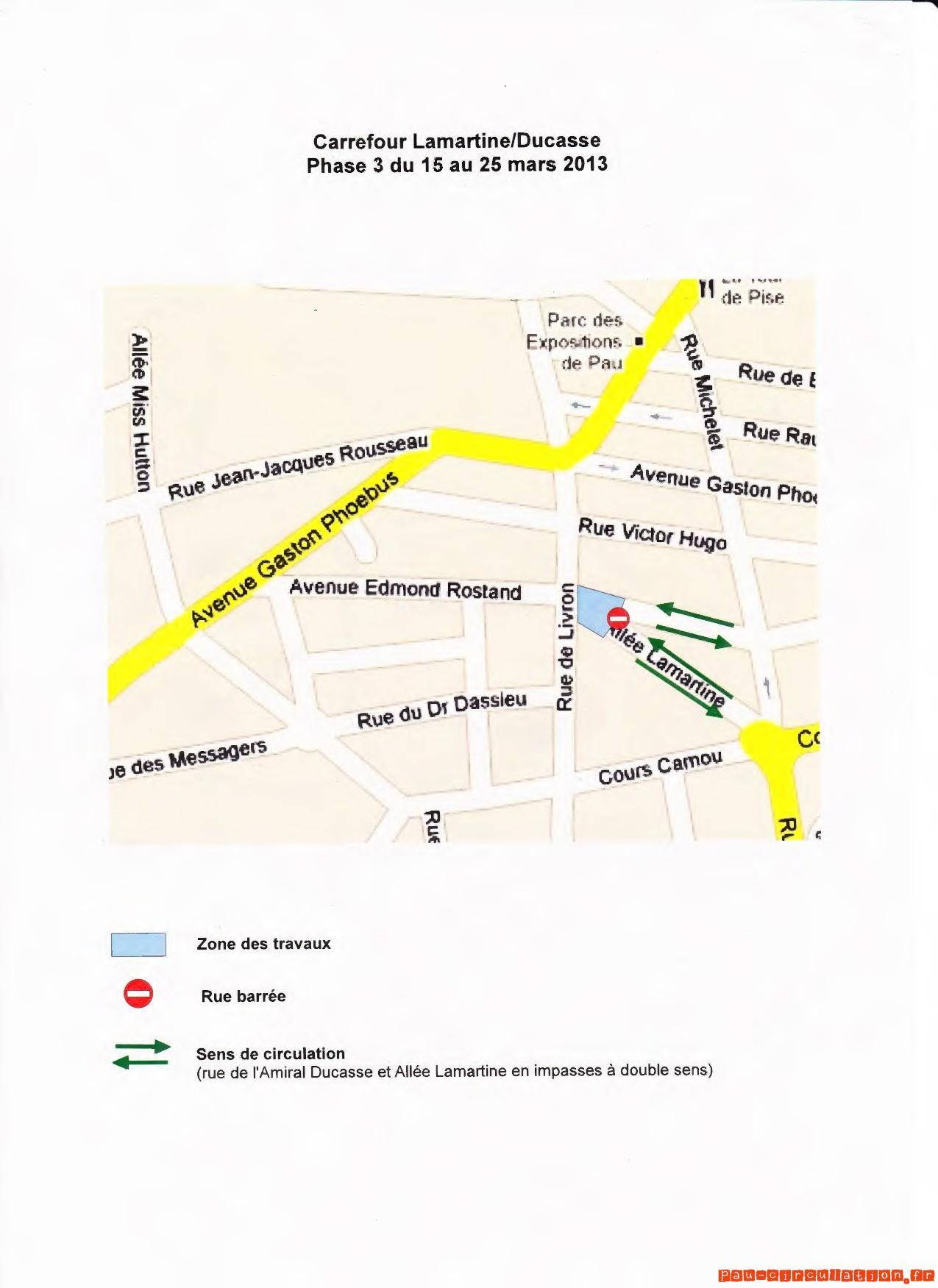 Rénovation Rue de Livron – Phase 03 du 15 mars au 25 mars 2013