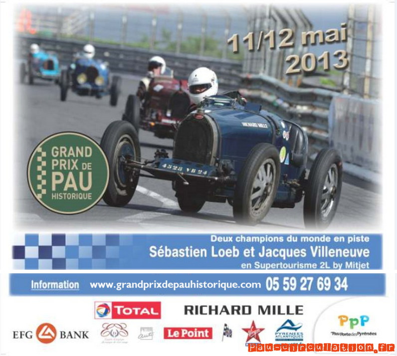 Grand Prix Historique de Pau 2013