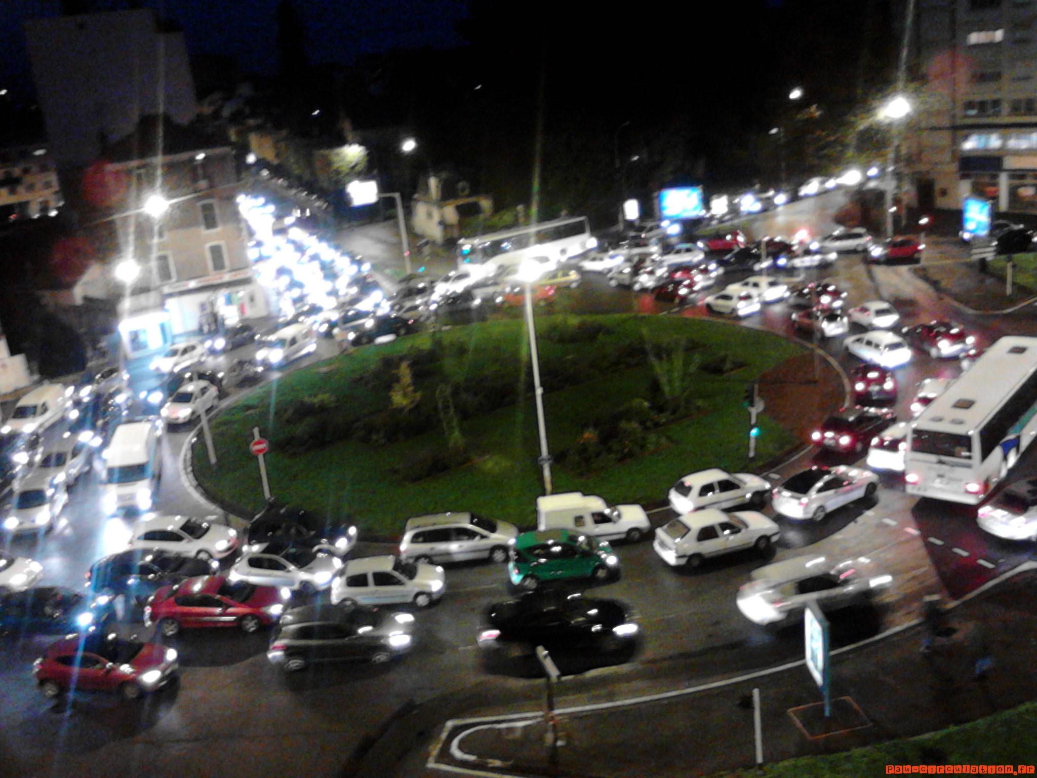 Perturbations de trafic sur le rond-point de la foire expo