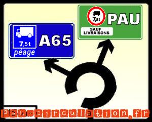 A65: Autoroute obligatoire pour les 7,5 tonnes