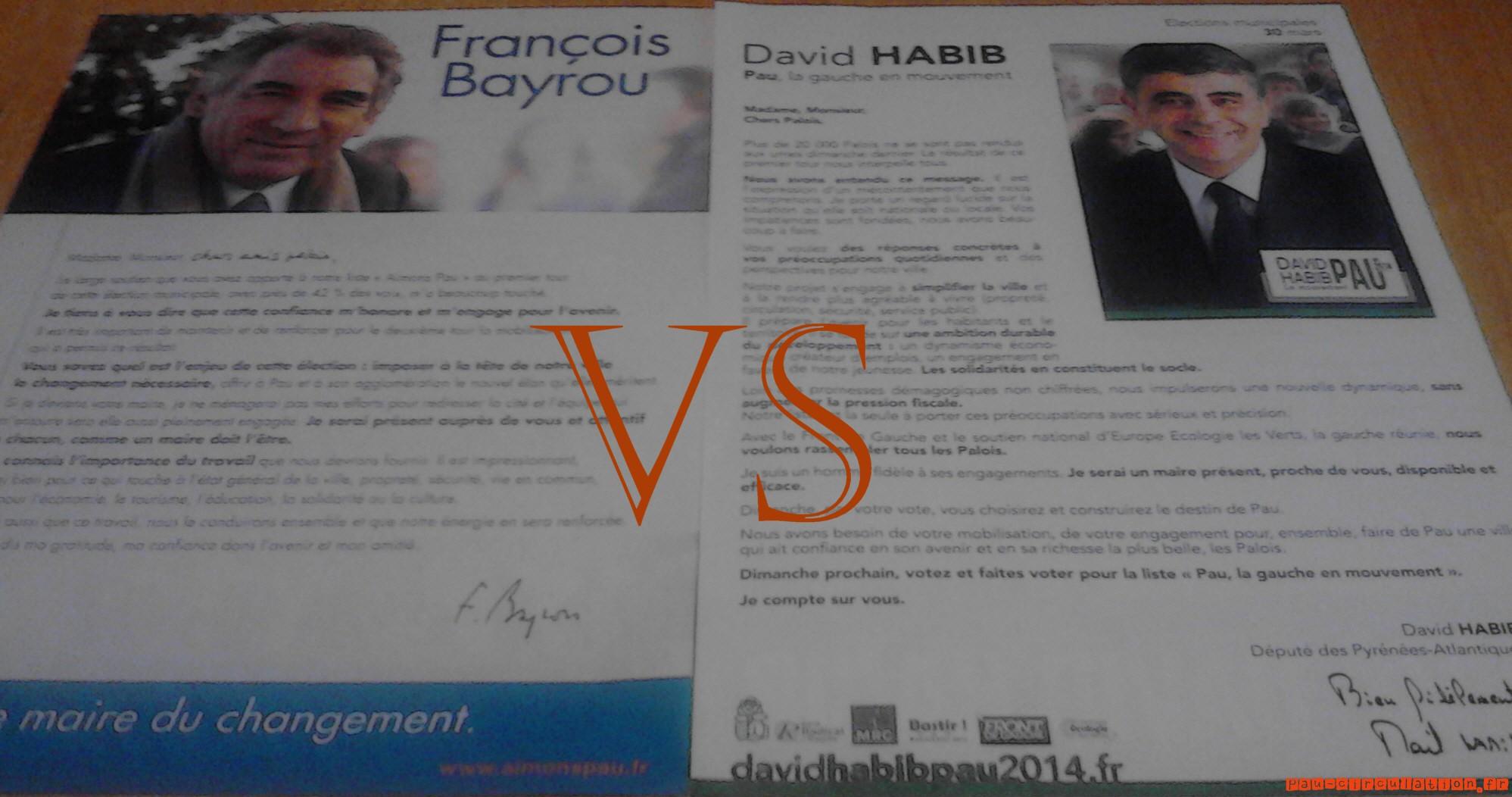 Bayrou VS Habib (2ème tour)