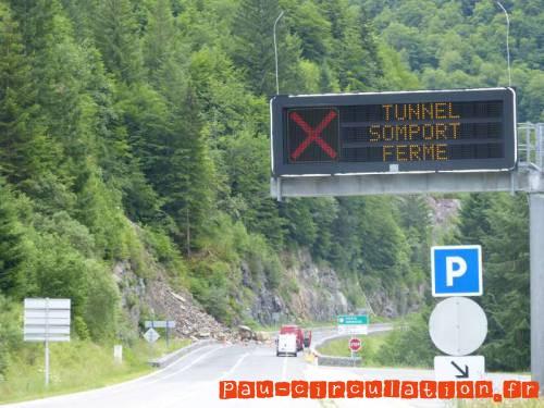 Tunnel du Somport Fermé