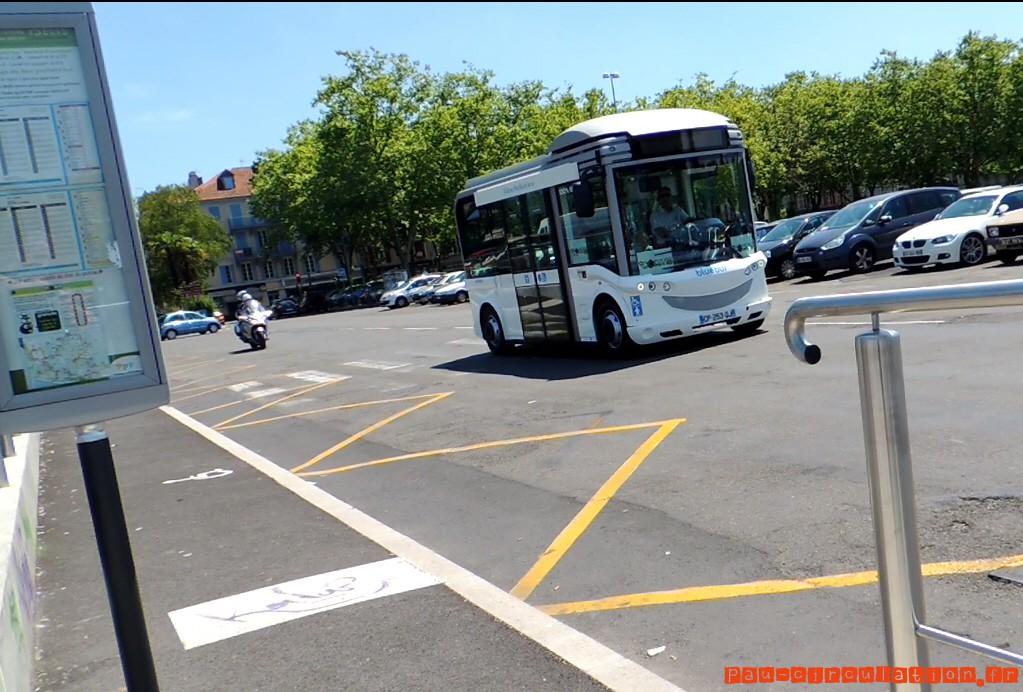Le Bluebus en essai à Pau