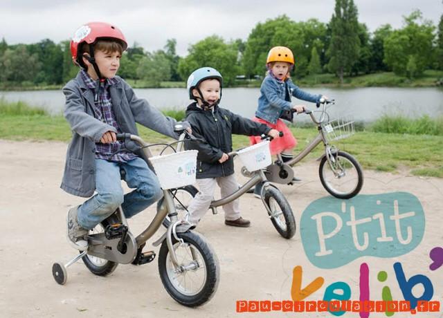 Les P'tits Vélib' débarquent pour les enfants à Paris