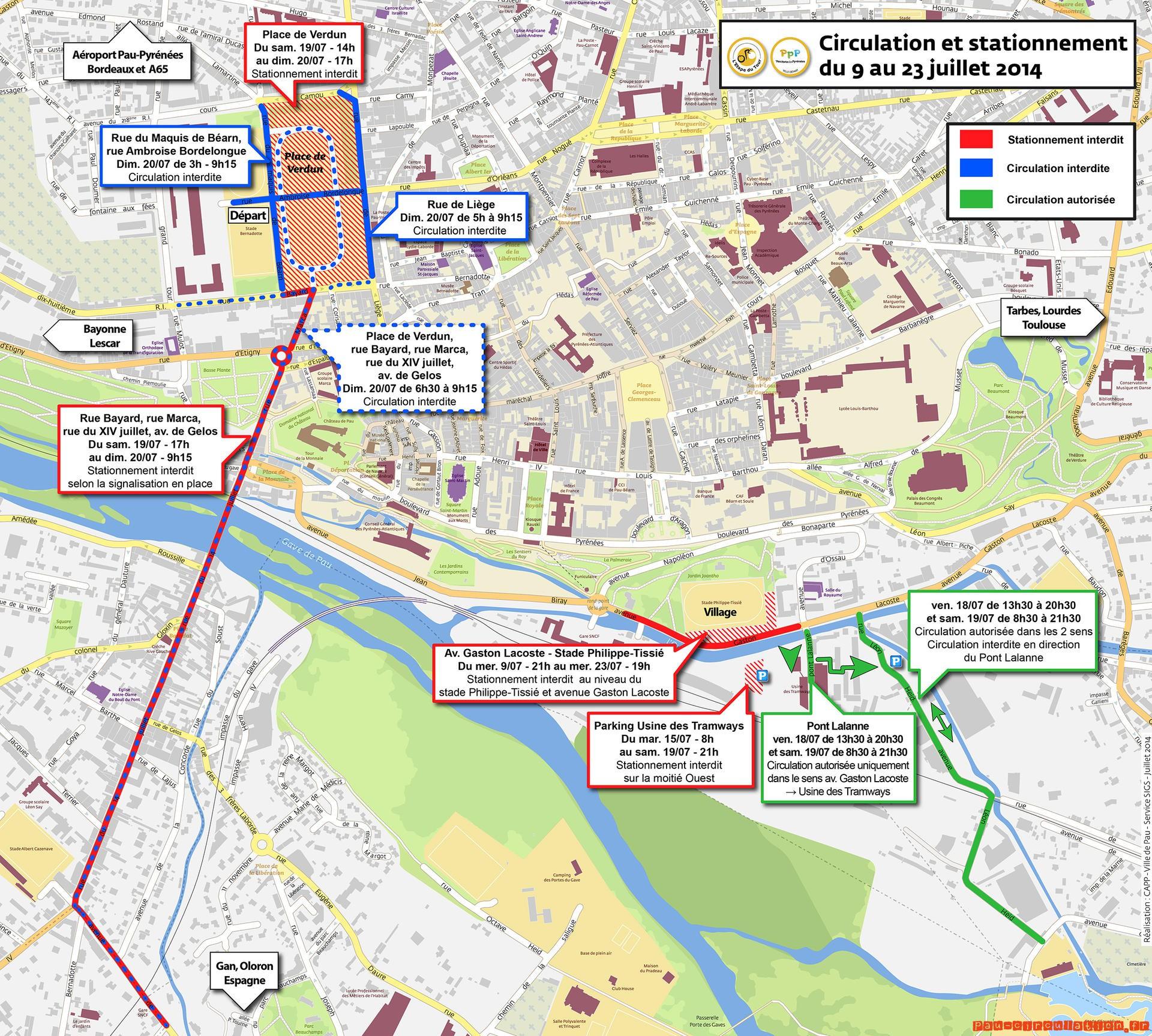 L'Étape du Tour : circulation et stationnement mode d'emploi