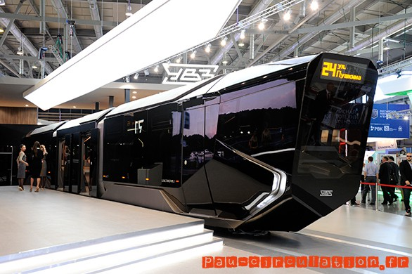 Russia One le tramway « Révolutionnaire » Russe