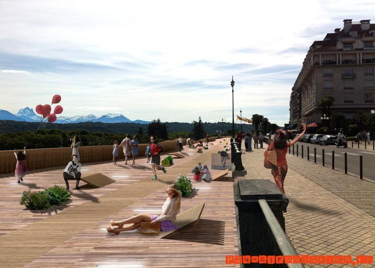 Changement au Boulevard des Pyrénées