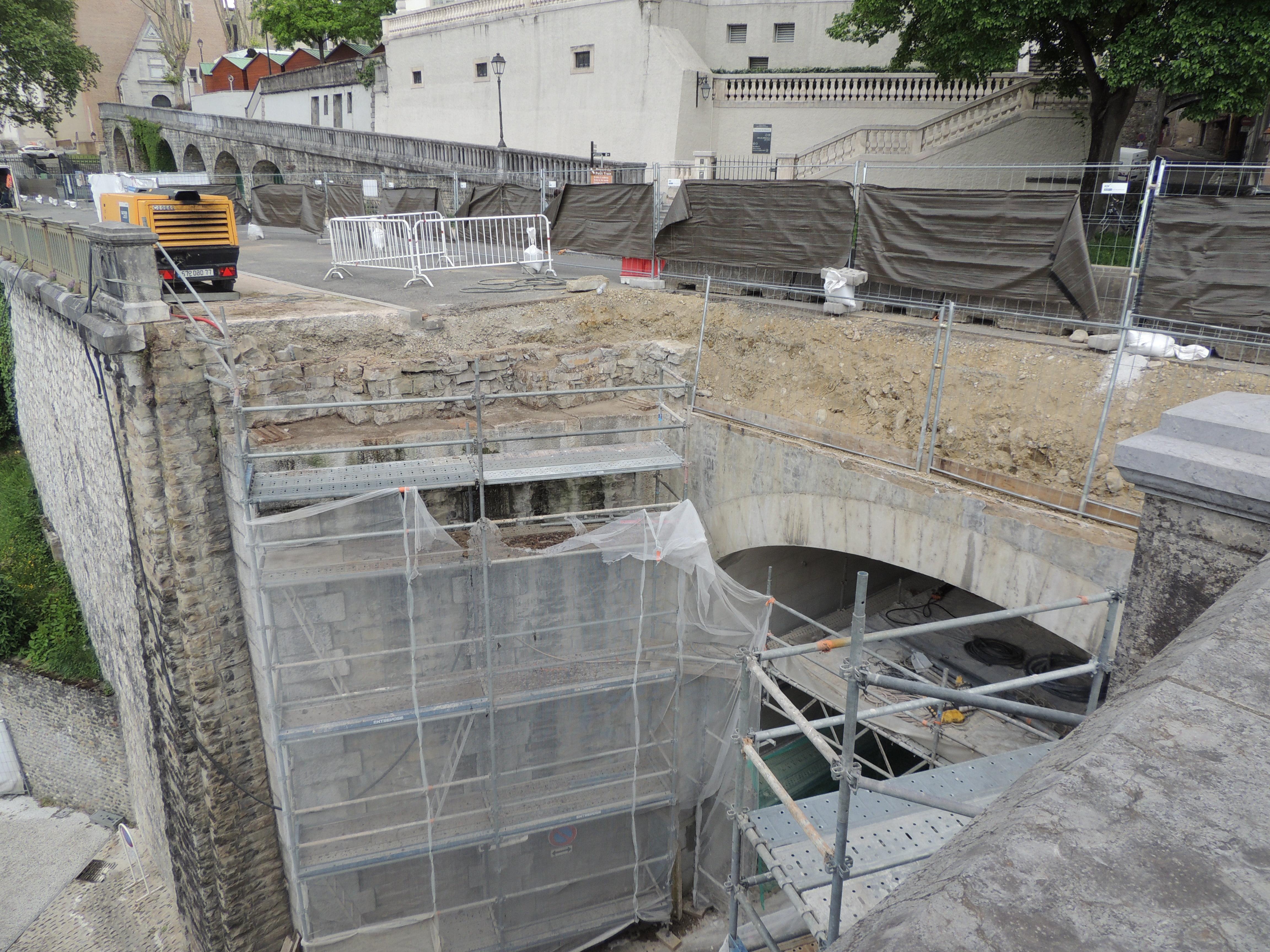 Rénovation pont de la côte du Moulin