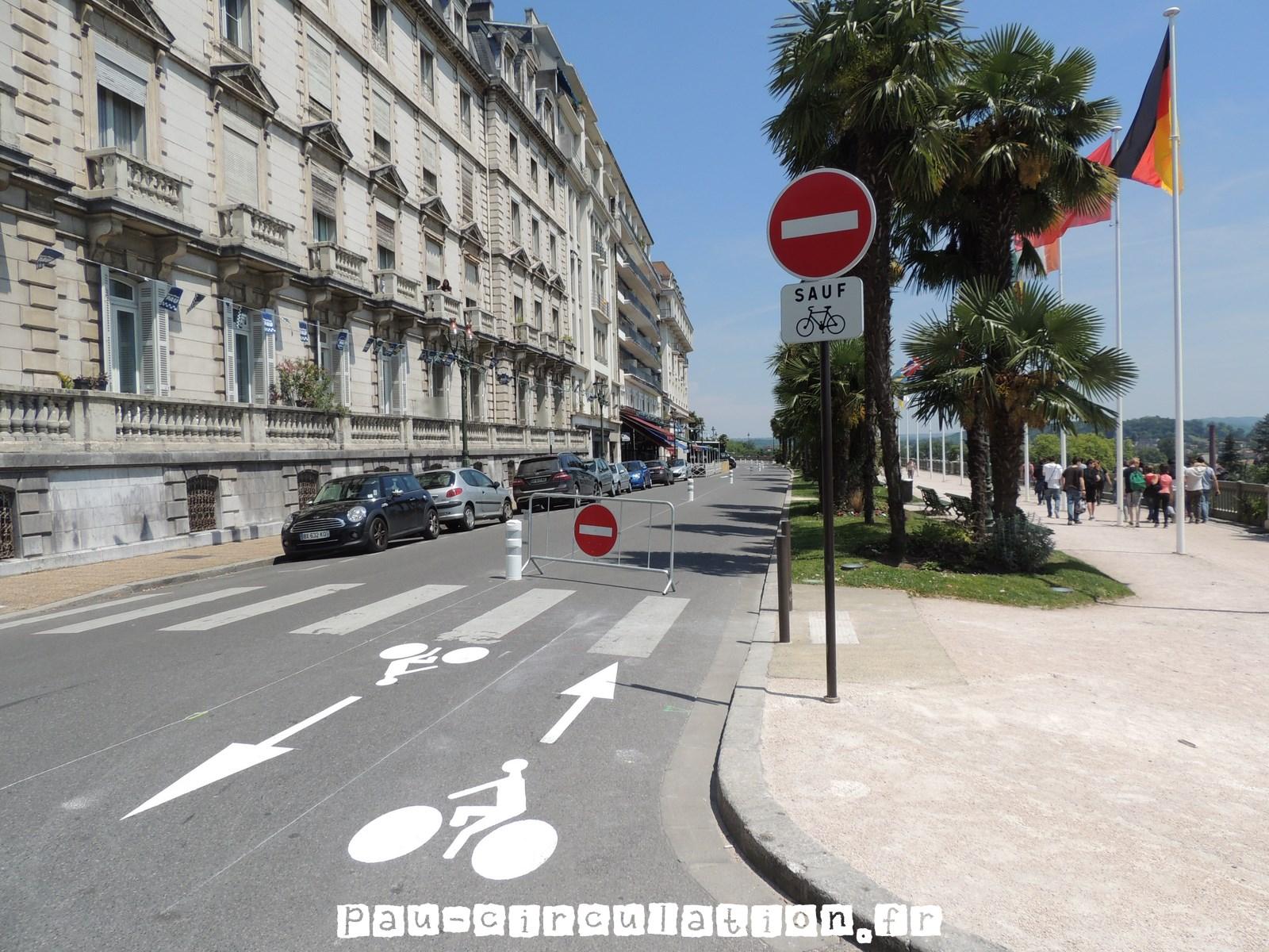 Le Boulevard des Pyrénées en sens unique