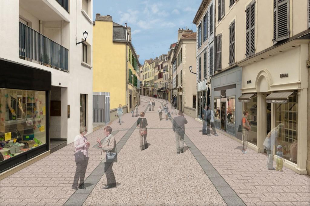 Rue des Cordeliers vue future 2