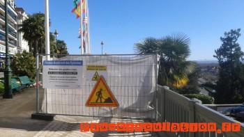 Zone en travaux protégée