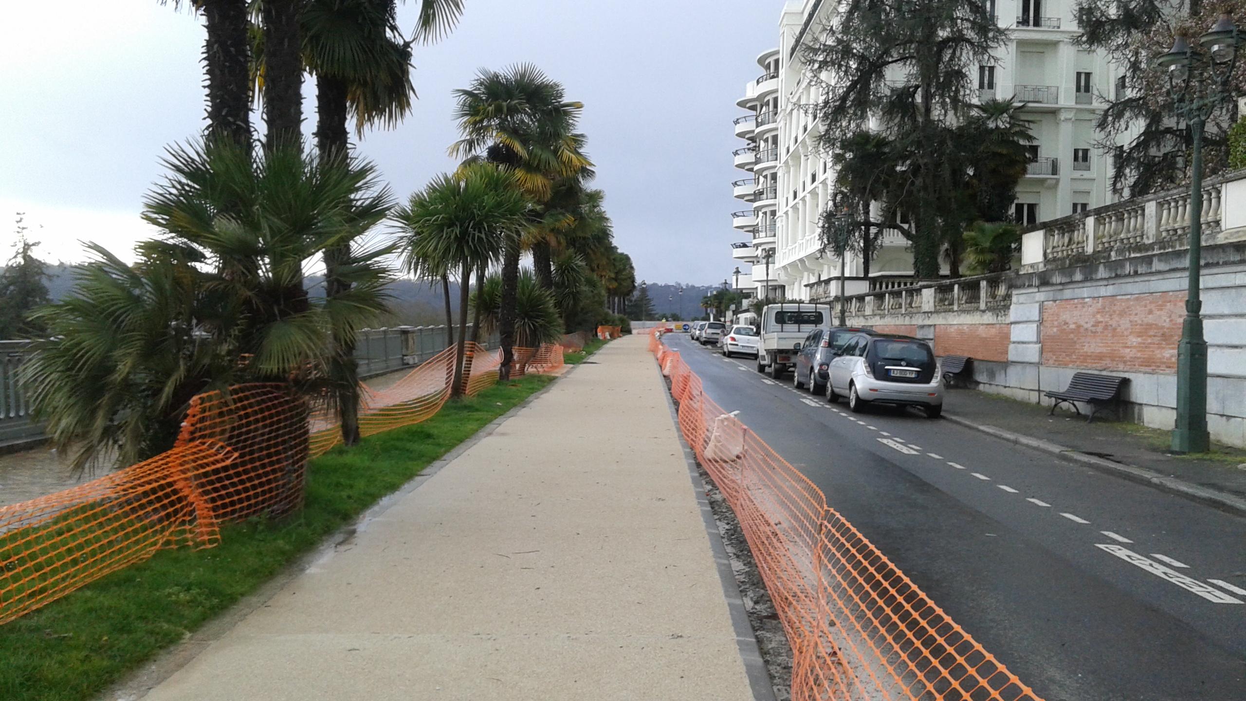 Travaux sur le boulevard des Pyrénées (phase 2)