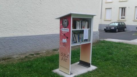 La boîte à livres débarque à Pau