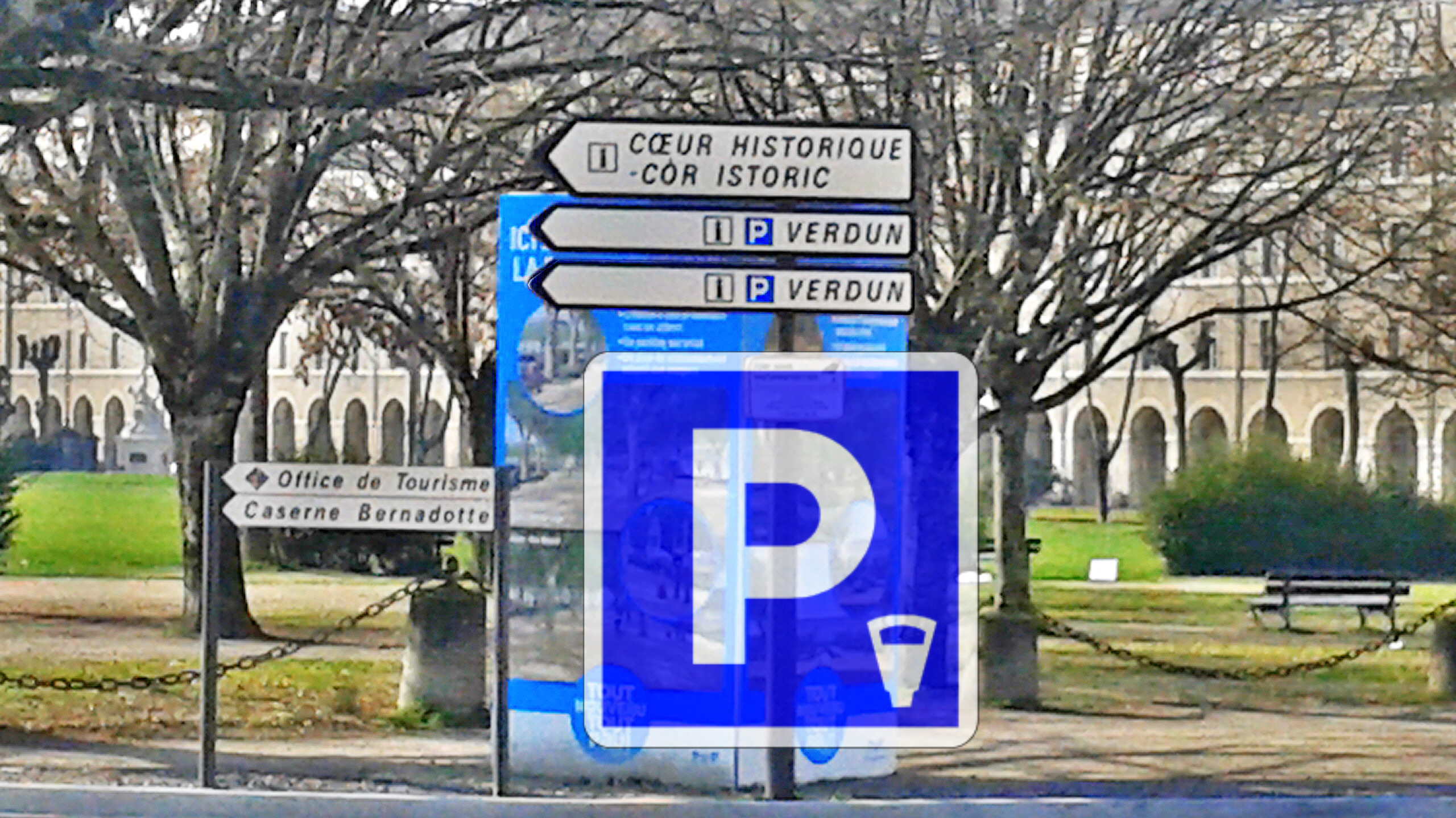 Aménagements Place de Verdun et Stationnement