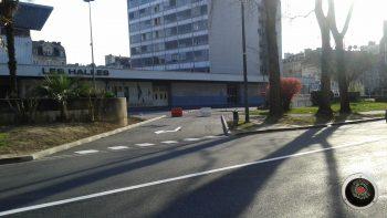 Nouvelle sortie côté Nord du parking souterrain République (Halles)