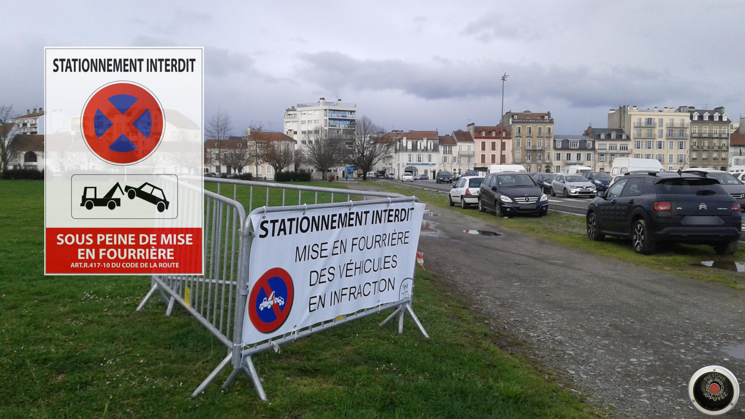 Place de Verdun halte au stationnement sauvage