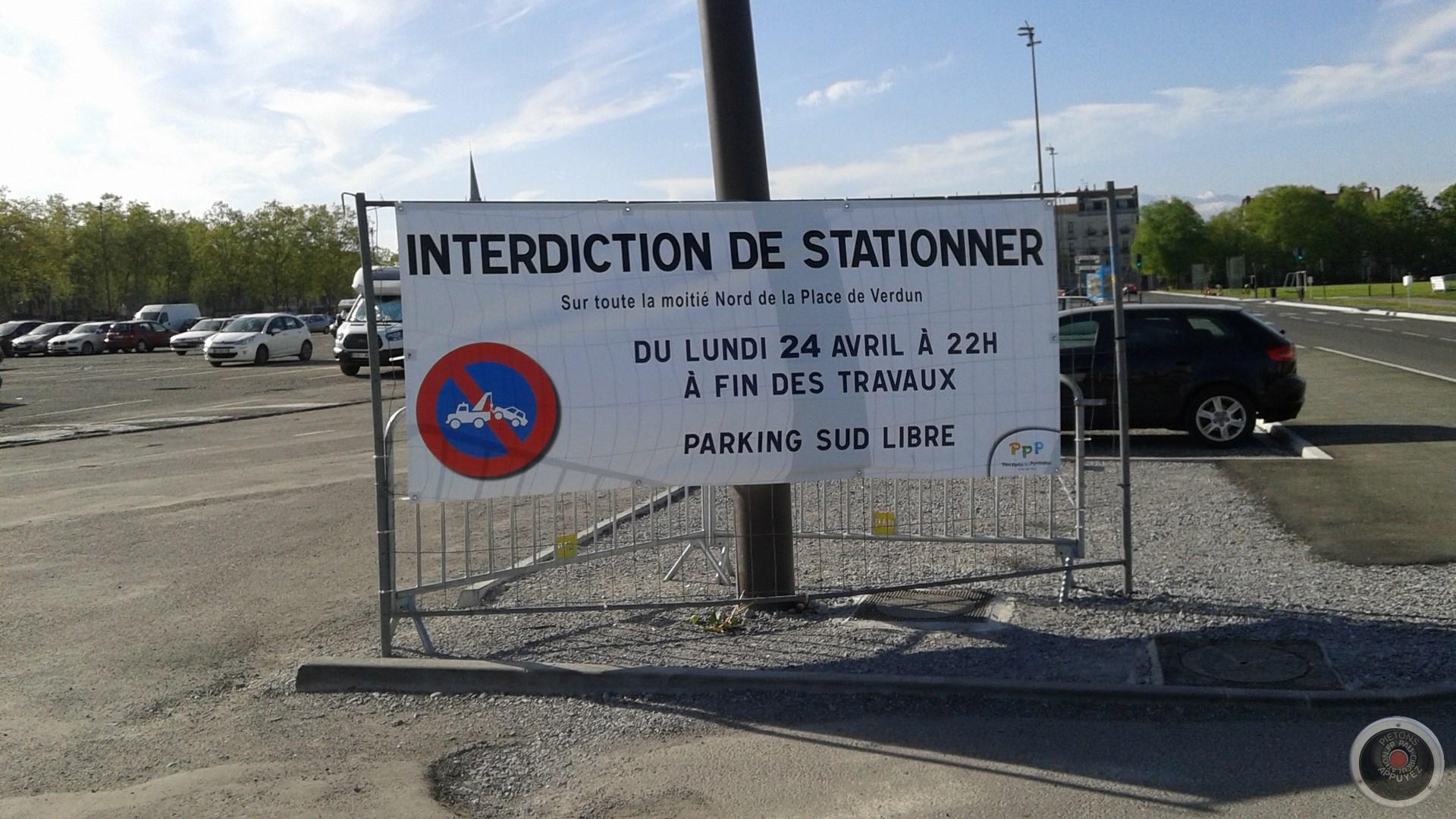 Place de Verdun Anneau Nord Fermé