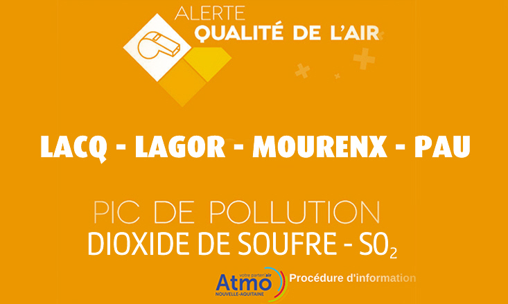 1 Juin 2017 – Alerte pollution SO2