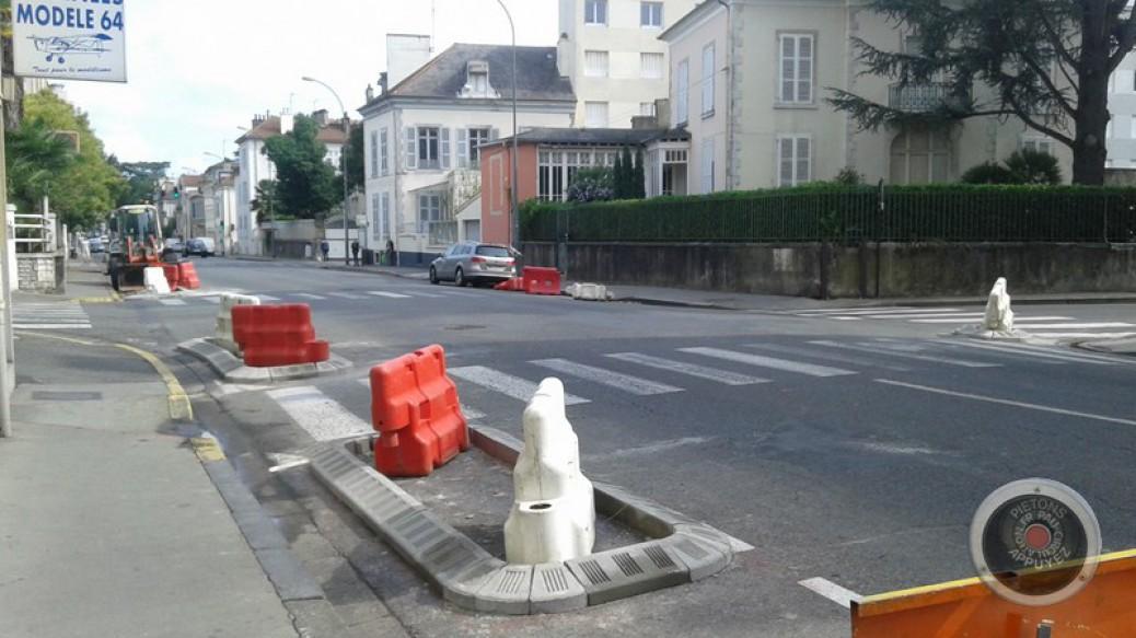 Pau: Travaux sur voirie