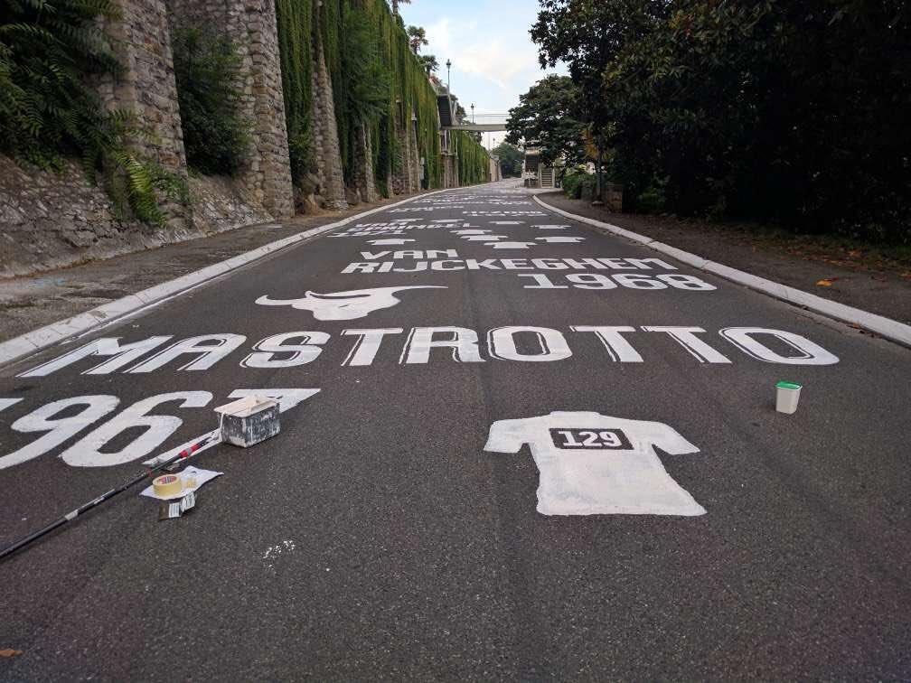 Pau: La Pente est peinte