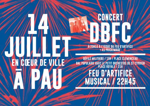 14 Juillet 2017 à Pau