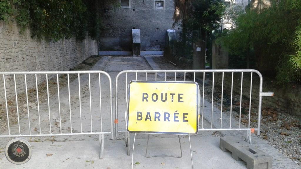 La voie verte du Hédas fermée partiellement