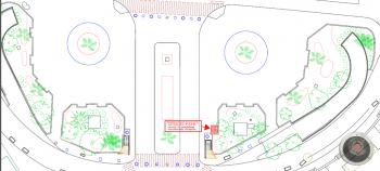 Plan de localisation du nouvel ascenseur