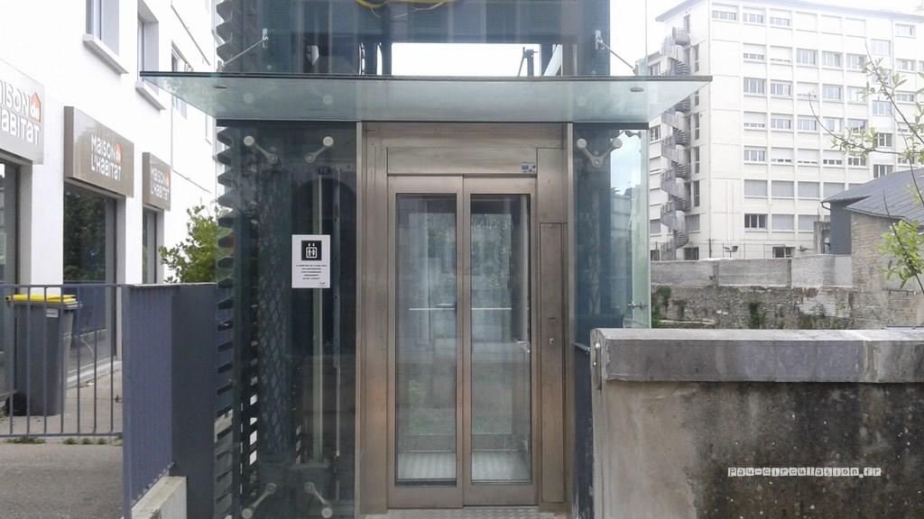 Hédas: ascenseurs fermés la nuit
